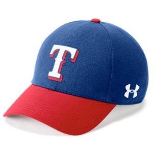アンダーアーマー メンズ Under Armour MLB Driver Baseball Cap Texas Rangers メジャー リーグ テキサス・レンジャーズ キャップ|troishomme
