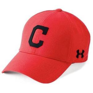 アンダーアーマー メンズ Under Armour MLB Driver Baseball Cap Cleveland Indians メジャー リーグ クリーブランド・インディアンス キャップ|troishomme