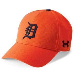 アンダーアーマー メンズ Under Armour MLB Driver Baseball Cap Detroit Tigers メジャー リーグ デトロイト・タイガース キャップ|troishomme