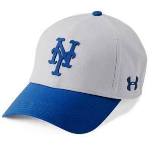アンダーアーマー メンズ Under Armour MLB Driver Baseball Cap New York Mets メジャー リーグ ニューヨーク・メッツ キャップ|troishomme