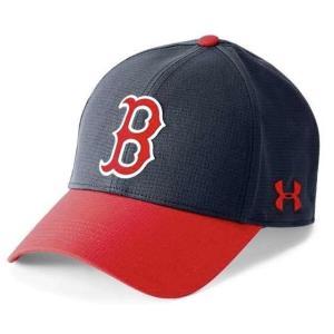 アンダーアーマー メンズ Under Armour MLB Driver Baseball Cap Boston Red Sox メジャー リーグ ?ボストン・レッドソックス キャップ|troishomme