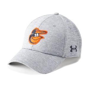 アンダーアーマー メンズ Under Armour MLB Twist Closer Cap Headwear キャップ 帽子 Graphite / Steel|troishomme
