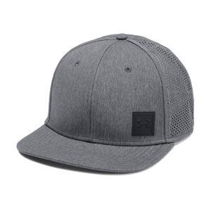 アンダーアーマー メンズ Under Armour SuperVent Flat Brim 2.0 Cap Headwear キャップ 帽子 Black troishomme