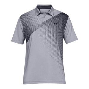 アンダーアーマー メンズ Under Armour Playoff 2.0 Golf Polo Shirt ゴルフ ポロシャツ Steel/Jet Gray troishomme
