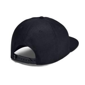 アンダーアーマー プロジェクト ロック メンズ キャップ UA Project Rock Strength Flat Brim Cap 帽子 Black|troishomme|02