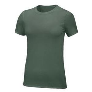 ナイキ レディース/ウーマン  Nike Team Core S/S T-Shirt 半袖 Tシャツ Dark Green/White troishomme