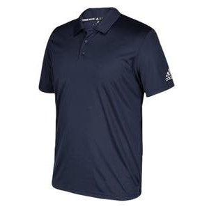 アディダス メンズ ポロシャツ adidas Team Grind Polo ゴルフ ロゴ 半袖 College Navy|troishomme