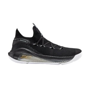アンダーアーマー メンズ カリー6 Under Armour Curry 6 VI TB バッシュ Black/White|troishomme
