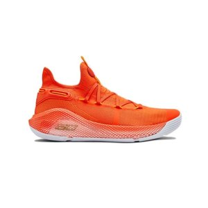 アンダーアーマー メンズ カリー6 Under Armour Curry 6 VI TB バッシュ Team Orange/White|troishomme