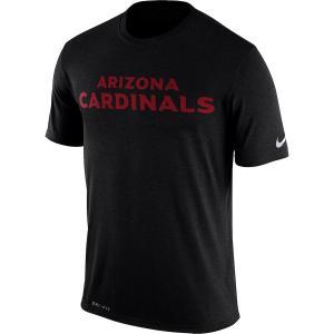 ナイキ メンズ Tシャツ Arizona Cardinals Nike Legend Wordmark Essential 3 Performance T-Shirt 半袖 ドライフィット Black|troishomme