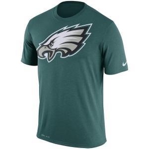 ナイキ メンズ Tシャツ Philadelphia Eagles Nike Legend Performance Logo Essential 3 T-Shirt 半袖 ドライフィット Green|troishomme