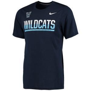 ナイキ メンズ Villanova Wildcats Nike Legend Staff Sideline T-Shirt 半袖 Tシャツ Navy|troishomme