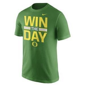 ナイキ メンズ NCAA カレッジ Tシャツ Oregon Ducks Nike Local Verbiage T-Shirt Apple Green|troishomme