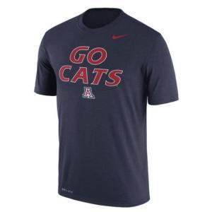 ナイキ メンズ カレッジ Tシャツ Arizona Wildcats Nike Legend Authentic Local Dri-FIT T-Shirt 半袖 Navy|troishomme