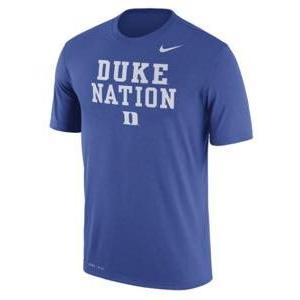 ナイキ メンズ NCAA カレッジ Tシャツ Duke Blue Devils Nike Legend Authentic Local Dri-FIT T-Shirt Royal|troishomme