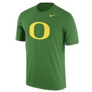 ナイキ メンズ NCAA カレッジ Tシャツ Oregon Ducks Nike Logo Legend Dri-FIT Performance T-Shirt Apple Green troishomme