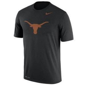 ナイキ メンズ NCAA カレッジ Tシャツ Texas Longhorns Nike Logo Legend Dri-FIT Performance T-Shirt - Black troishomme