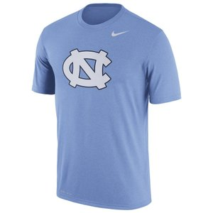 ナイキ メンズ North Carolina Tar Heels Nike Logo Legend Dri-FIT Performance T-Shirt Tシャツ 半袖 ドライフィット Light Blue|troishomme