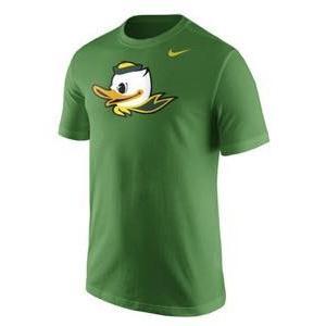 ナイキ メンズ NCAA カレッジ Tシャツ Oregon Ducks Nike Mascot Logo T-Shirt Apple Green troishomme