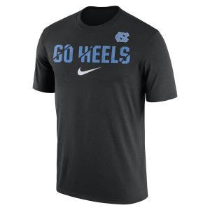 ナイキ メンズ North Carolina Tar Heels Nike Ignite Verbiage Legend T-Shirt Tシャツ 半袖 ドライフィット Black|troishomme
