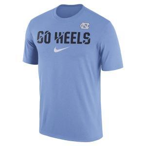 ナイキ メンズ North Carolina Tar Heels Nike Ignite Verbiage Legend T-Shirt Tシャツ 半袖 ドライフィット Carolina Blue|troishomme