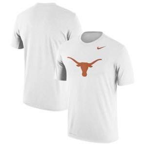 ナイキ メンズ NCAA カレッジ Tシャツ Texas Longhorns Nike Logo Legend Performance T-Shirt White troishomme