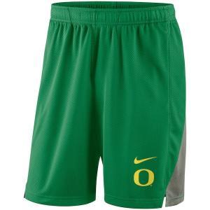 ナイキ カレッジ NCAA ショーツ Oregon Ducks Nike Franchise Shorts バスパン Apple Green troishomme
