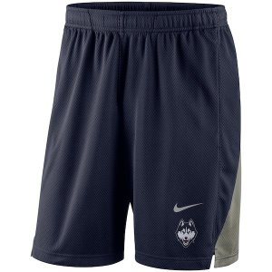 ナイキ カレッジ NCAA ショーツ UConn Huskies Nike Franchise Shorts バスパン Navy|troishomme