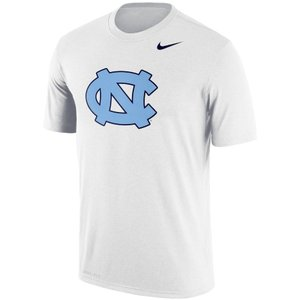 ナイキ メンズ North Carolina Tar Heels Nike Legend School Logo Performance T-Shirt Tシャツ 半袖 ドライフィット White|troishomme