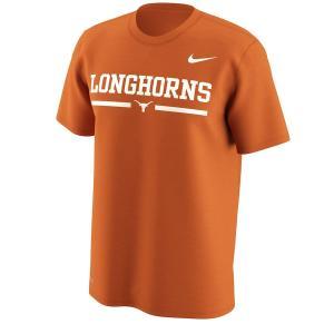 ナイキ メンズ Texas Longhorns Nike Week Zero Trainer Hook T-Shirt 半袖 Tシャツ ドライフィット Texas Orange|troishomme