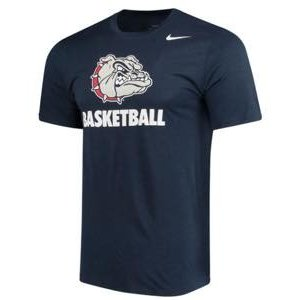ナイキ メンズ NCAA カレッジ Tシャツ Gonzaga Bulldogs Nike Basketball Sport Legend Performance T-Shirt Navy|troishomme