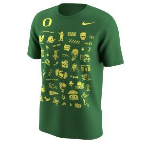 ナイキ メンズ Oregon Ducks Nike Autzen Stadium 50th Anniversary T-Shirt 半袖 Tシャツ Kelly Green troishomme