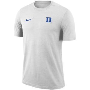 ナイキ メンズ Duke Blue Devils Nike 2018 Coaches Sideline Performance T-Shirt 半袖 Tシャツ ドライフィット White troishomme