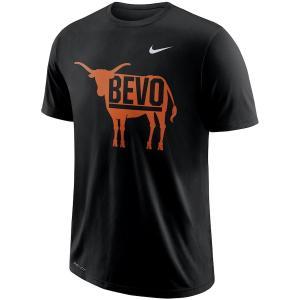 ナイキ メンズ Texas Longhorns Nike Performance Cotton Local T-Shirt 半袖 Tシャツ ドライフィット Black|troishomme