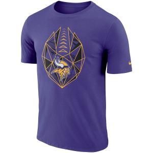 ナイキ メンズ NFL Minnesota Vikings Nike Fan Gear Icon Performance T-Shirt 半袖 Tシャツ ドライフィット Purple|troishomme