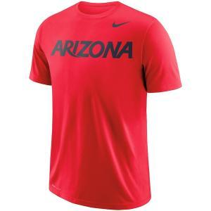 ナイキ メンズ Tシャツ Arizona Wildcats Nike School Wordmark Performance T-Shirt 半袖 Tシャツ ドライフィット Red|troishomme