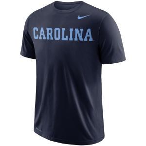 ナイキ メンズ North Carolina Tar Heels Nike School Wordmark Performance T-Shirt Tシャツ 半袖 ドライフィット Navy|troishomme