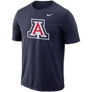 ナイキ メンズ Tシャツ Arizona Wildcats Nike Performance Cotton School Logo T-Shirt 半袖 Tシャツ Navy|troishomme