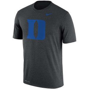 ナイキ メンズ Duke Blue Devils Nike Legend School Logo Performance T-Shirt 半袖 Tシャツ ドライフィット Charcoal troishomme