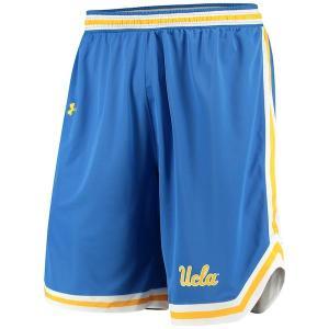 ナイキ カレッジ NCAA ショーツ UCLA Bruins Under Armour Performance Replica Basketball Shorts ポケットなし バスパン Blue|troishomme