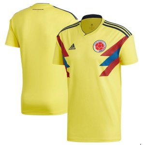 アディダス サッカーレプリカ ジャージー Colombia National Team adidas 2018 Home Replica Jersey メンズ Yellow|troishomme