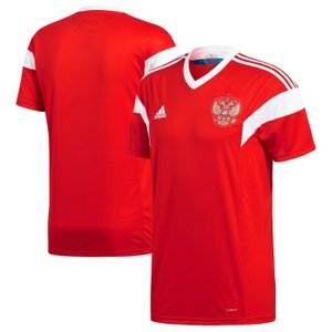 アディダス サッカー レプリカ ジャージー Russia National Team adidas 2018 Home Replica Jersey メンズ Red|troishomme