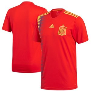 アディダス サッカー レプリカ ジャージー Spain National Team adidas 2018 World Cup Home Replica Jersey メンズ Red|troishomme