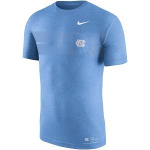 ナイキ メンズ North Carolina Tar Heels Nike Marled Pocket T-Shirt Tシャツ 半袖 Carolina Blue|troishomme