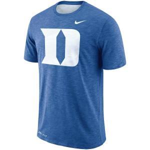 ナイキ メンズ Duke Blue Devils Nike Sideline Performance Cotton Slub T-Shirt 半袖 Tシャツ ドライフィット Royal troishomme