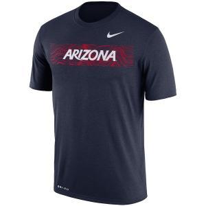 ナイキ メンズ Tシャツ Arizona Wildcats Nike 2018 Sideline Seismic Legend Performance Dri-FIT T-Shirt 半袖 ドライフィット Navy|troishomme