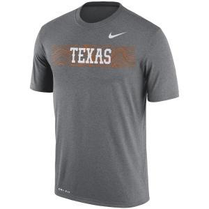 ナイキ メンズ Texas Longhorns Nike 2018 Sideline Seismic Legend Dri-FIT T-Shirt  半袖 Tシャツ ドライフィット Charcoal|troishomme