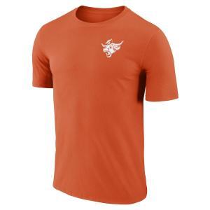 ナイキ メンズ Texas Longhorns Nike Performance Cotton Retro T-Shirt 半袖 Tシャツ ドライフィット Texas Orange|troishomme