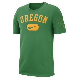 ナイキ メンズ Oregon Ducks Nike Heavyweight Cotton Retro T-Shirt 半袖 Tシャツ Green troishomme