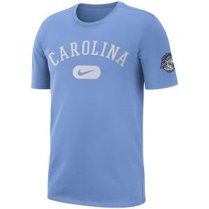 ナイキ メンズ North Carolina Tar Heels Nike Heavyweight Cotton Retro T-Shirt Tシャツ 半袖 Carolina Blue|troishomme